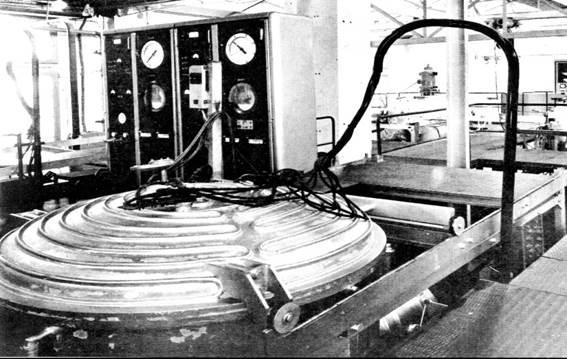 Разработка 1-ой вакуумной печи компанией INFRAFOURS для применения пайки благородных сталей в авиационной промышленности.